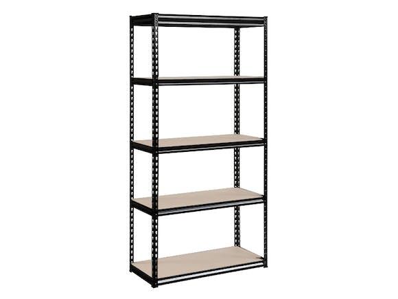 Steel Shelves 5-Shelf 182cm x 91cm x 46cm