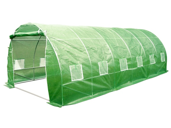 Evergreen Tunnel House Greenhouse 3m x 6m