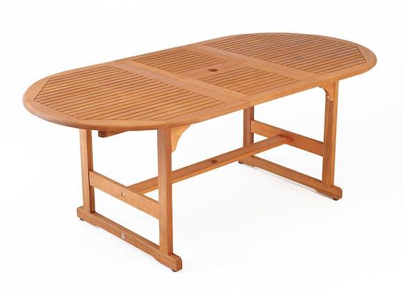Eden Extending Outdoor Dining Table 150-200cm