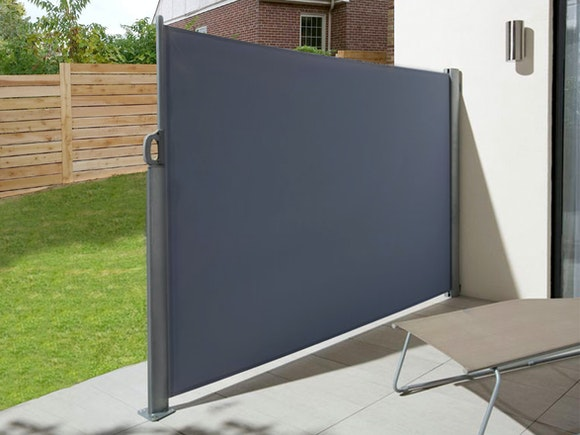 Retractable Side Screen 1.8m x 3m Graphite