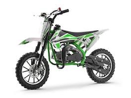 Kids Mini Dirt Bike 49cc Green