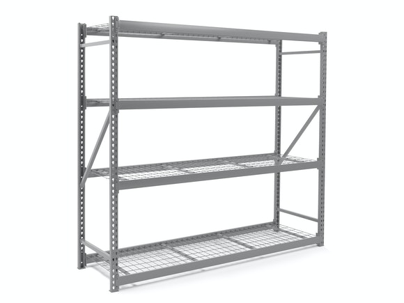 Steel Shelving Unit Heavy Duty 196cm x 183cm x 61cm