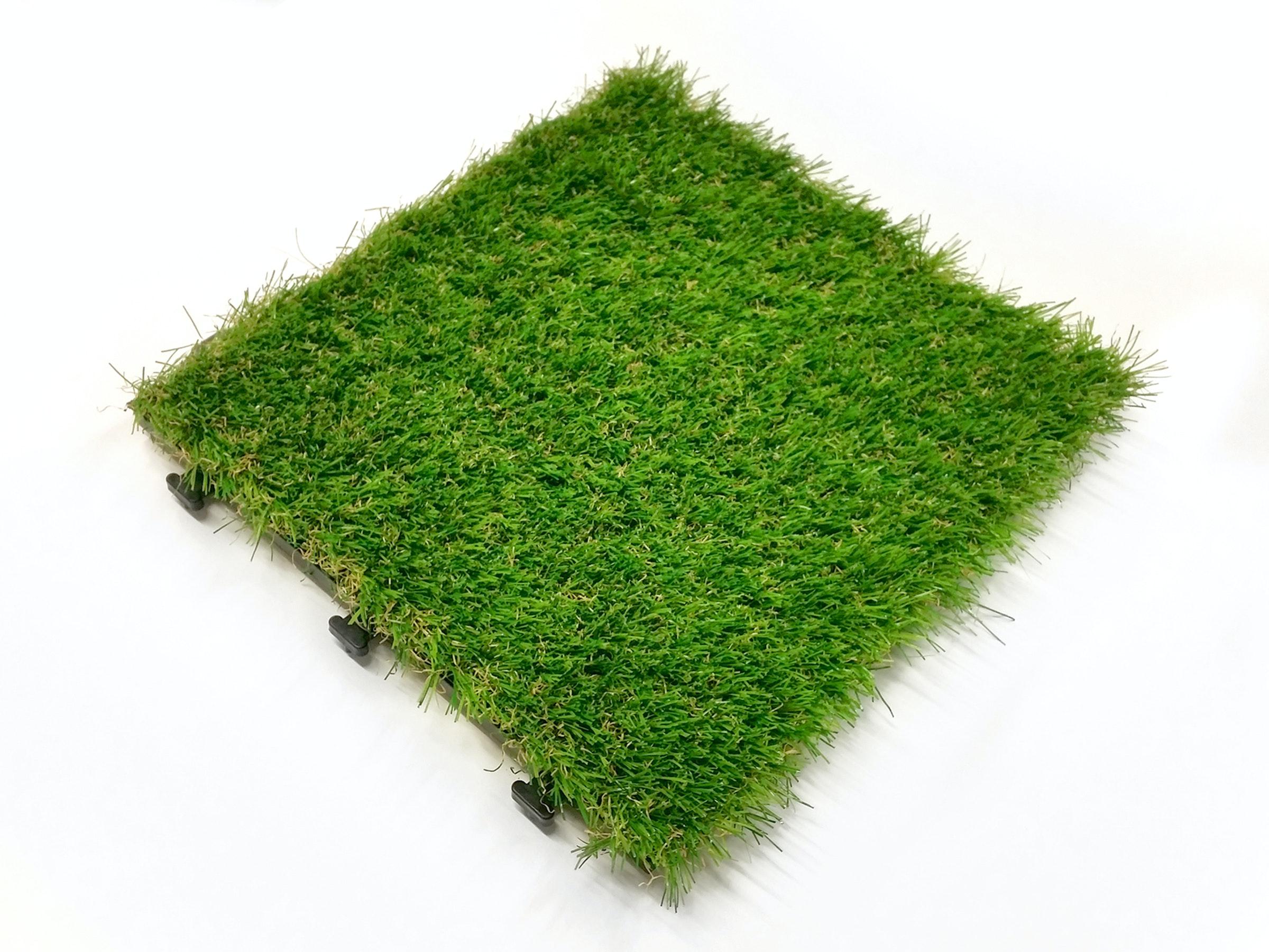 Artificial Grass Deck Tiles 35mm - Pack of 12