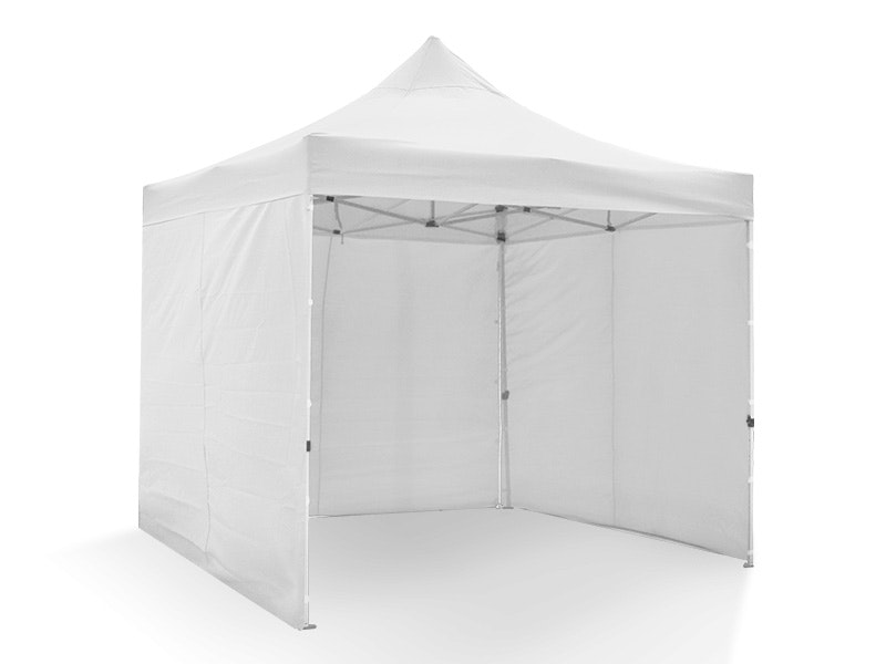 Great White Pop Up Gazebo Enclosed 3m x 3m White