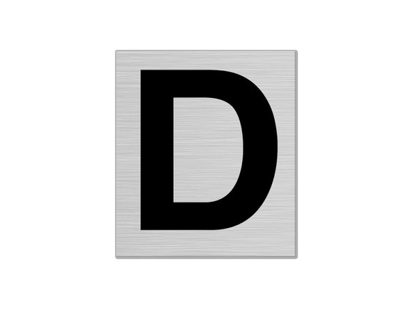 "Letterbox Number 50mm ""D"""