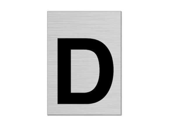 "Letterbox Number 75mm ""D"""