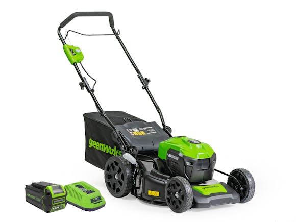 GreenWorks Lawnmower 40V 460mm Brushless 4.0Ah Kit
