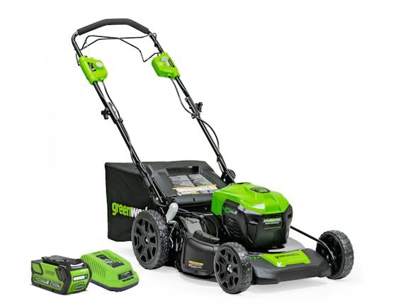 GreenWorks Lawnmower 40V 530mm Brushless SP 6.0Ah Kit