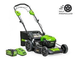 GreenWorks Lawnmower 40V 530mm Self-Propelled 6.0Ah Kit
