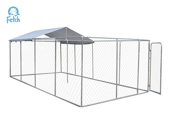 Fetch Covered Dog Run 6m x 3m