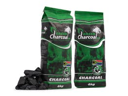 Green Charcoal 4kg Twin Pack