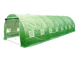 Evergreen Tunnel House Greenhouse 3m x 8m