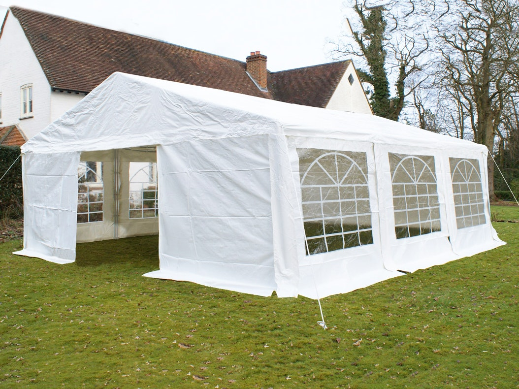Great White Marquee 6m x 6m Heavy Duty PVC