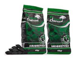 Green Briquettes 4kg Twin Pack