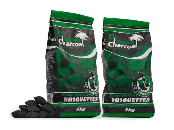 Green As Briquettes 4kg Twin Pack