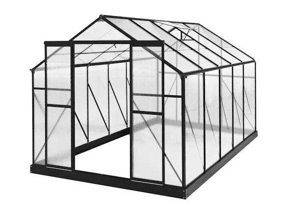 Evergreen Greenhouse 12 x 8ft Black