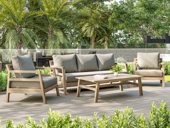 Byron Hardwood Outdoor Sofa Set