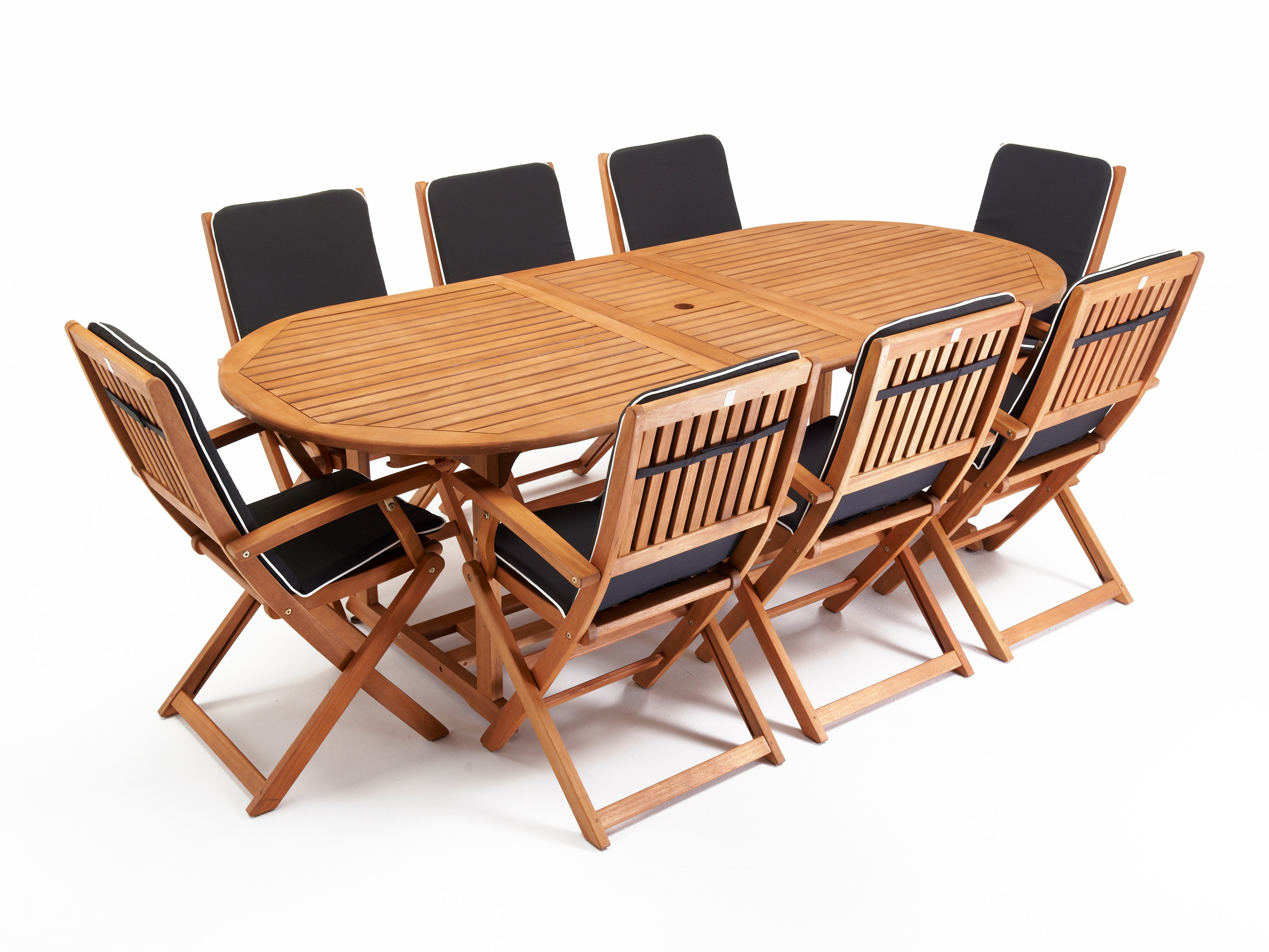 Chatswood Outdoor Dining Set Extending 8-Seater
