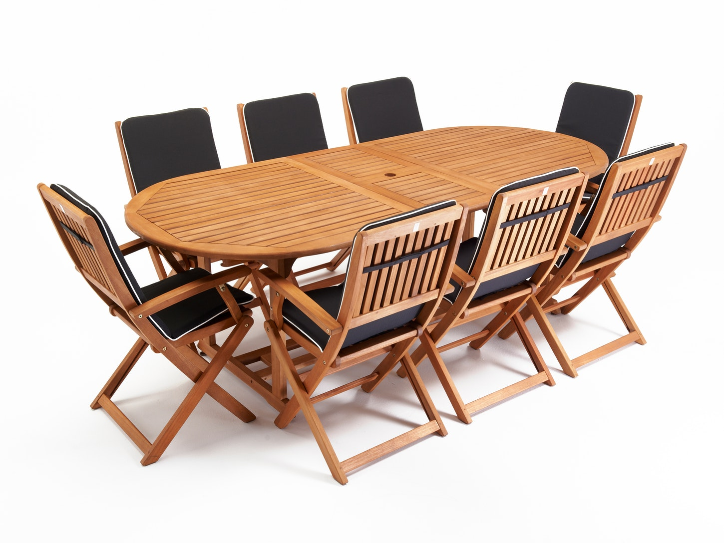 Chatswood Outdoor Dining Set Extending 8 Seater Dining Sets