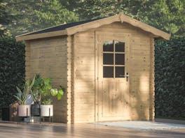 Log Cabin Garden House Vivian 2.0m x 2.0m