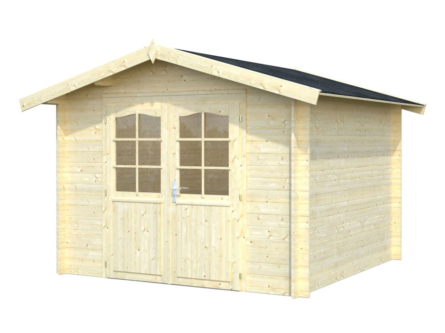 Log Cabin Garden House Lotta 2.76m x 2.76m