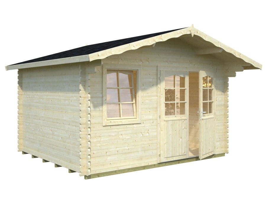 Log Cabin Garden House Emma 3.6m x 3.0m