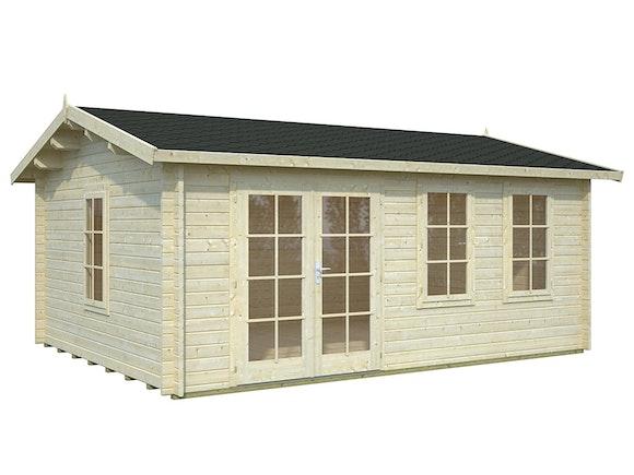 Log Cabin Garden House Iris 5.1m x 3.9m