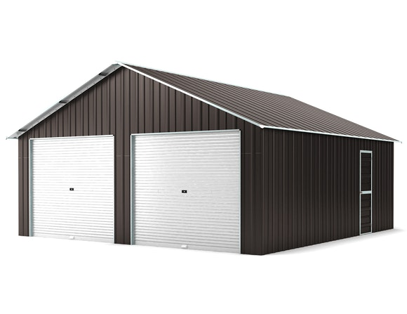 Double Garage 6.4m x 7.2m Ironsand