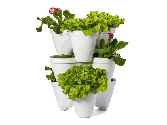 Keter Ivy Planter Stackable - Set of 3
