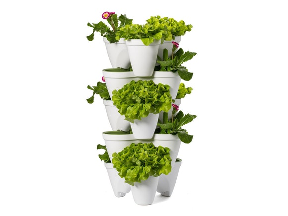 Keter Ivy Planter Stackable - Set of 5