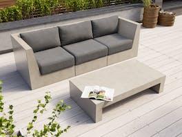 Modulo Concrete Sofa Set
