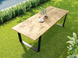Pier Teak Outdoor Dining Table