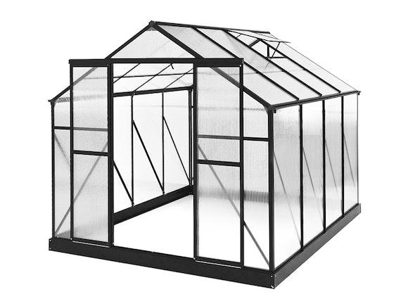 Evergreen Greenhouse 10 x 8ft Black