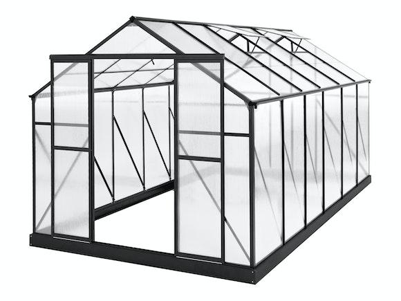 Evergreen Greenhouse 14 x 8ft Black