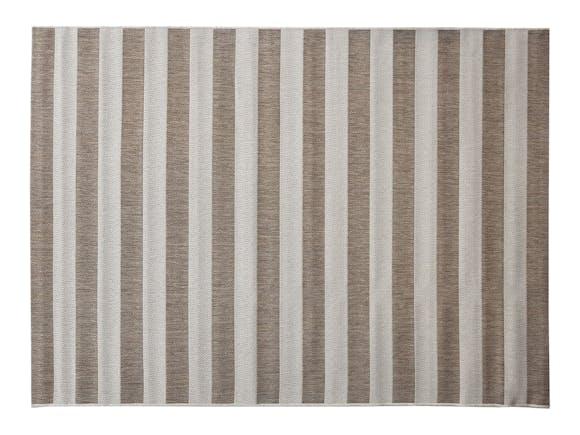 Signature Outdoor Rug Beige & Cream Stripe 200 x 290cm
