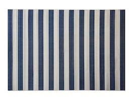 Signature Outdoor Rug Blue & Cream Stripe 160 x 230cm