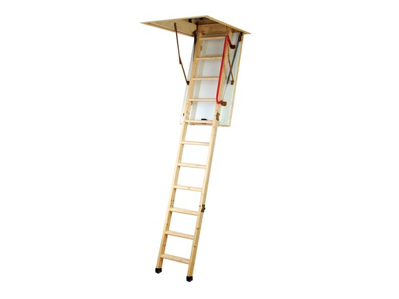 Attic Stairs Deluxe Wooden 2.4m - 2.7m