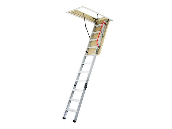 Attic Stairs Deluxe Aluminium 2.4m - 2.7m