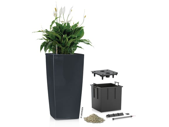 Lechuza Cubico Planter Colour 40 - Slate