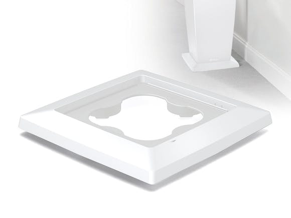 Lechuza Cubico 30 Coaster - White