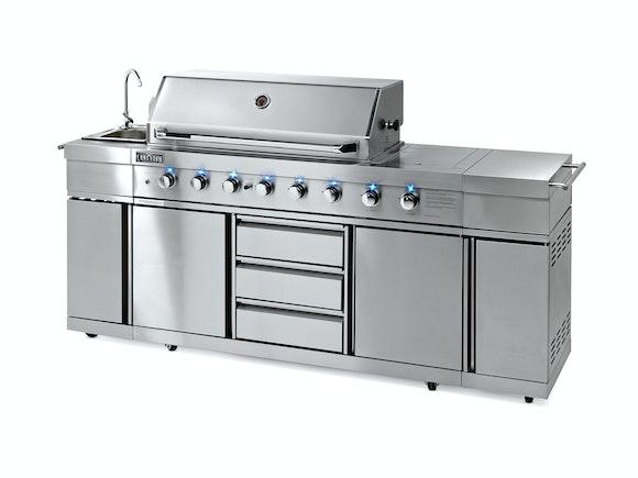 Longhorn BBQ Ultimate Outdoor Kitchen 8 Burner