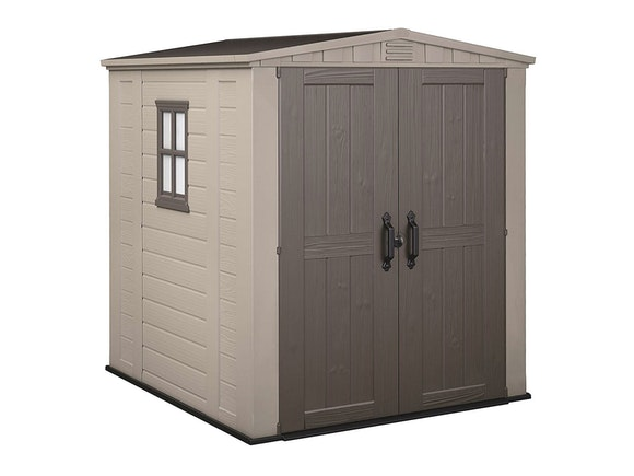 Keter Factor 6x6 Shed 1.78m x 1.95m