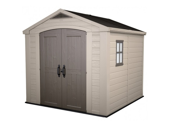 Keter Factor 8x8 Shed 2.56m x 2.55m