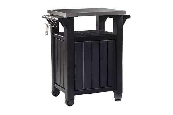 Keter Unity Entertaining BBQ Storage Table SML
