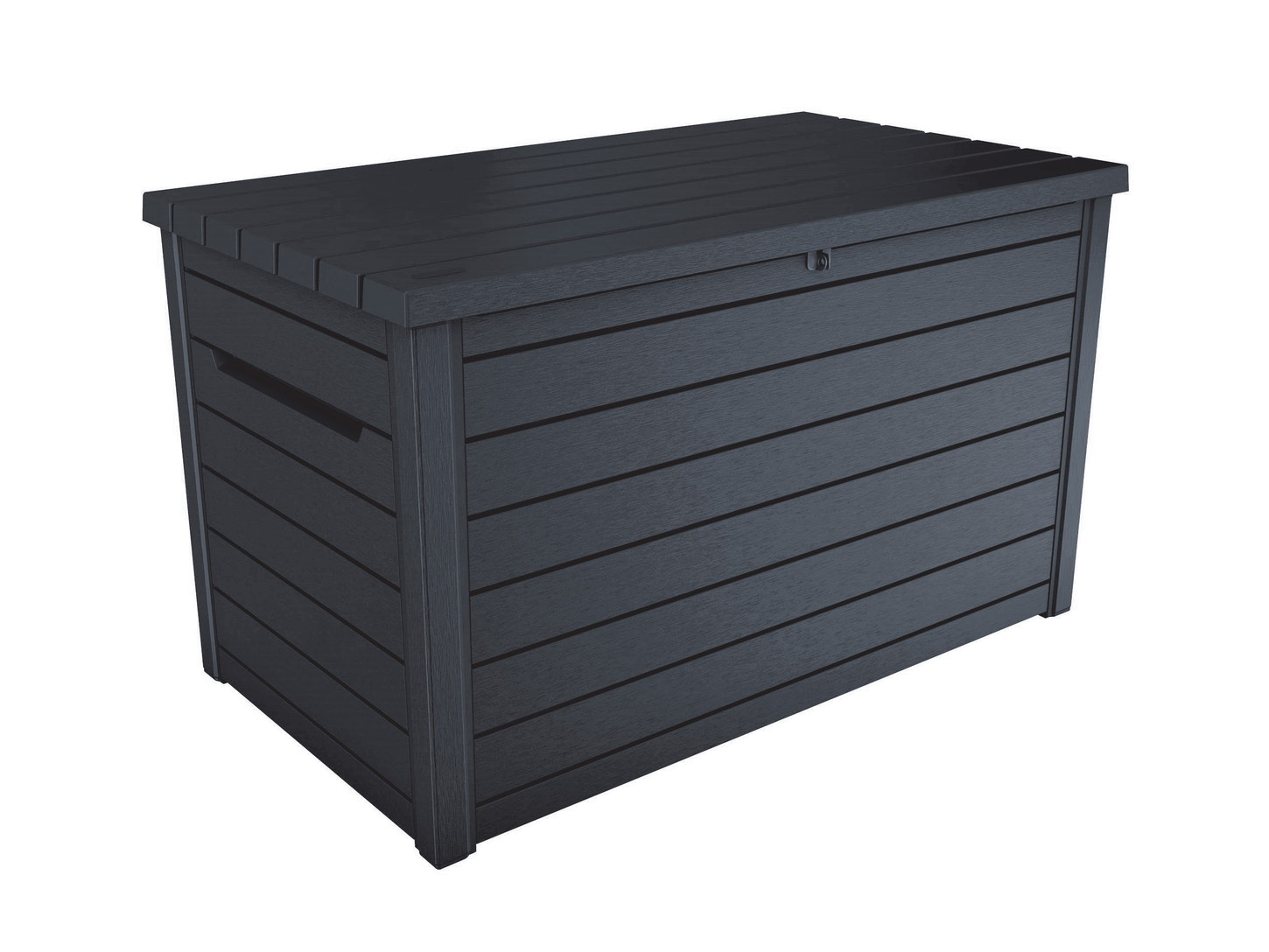 Keter ontario outdoor storage box 870l storage boxes outdoor furniture home outdoor living trade tested