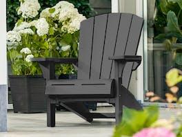 Keter Cape Cod Adirondack Chair Graphite