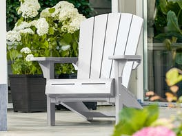 Keter Cape Cod Adirondack Chair White
