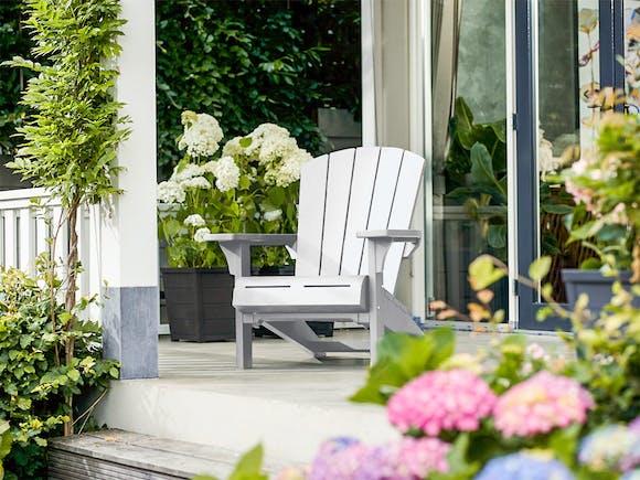 Keter Cape Cod Adirondack Chair - White