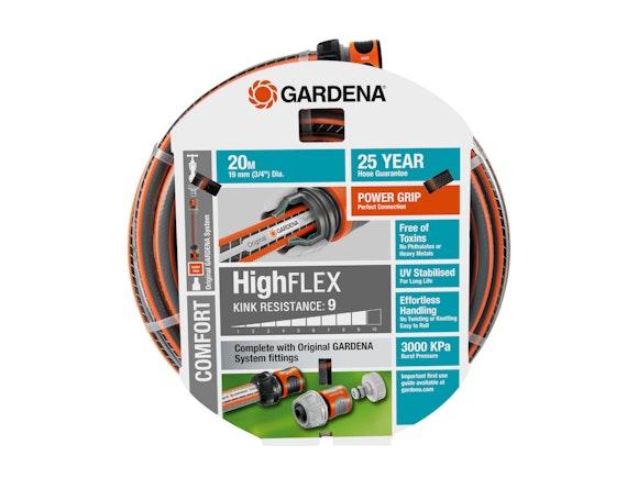 Gardena Garden Hose Comfort HighFLEX 19mm Set 20m