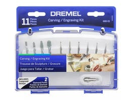 Dremel Carving And Engraving Kit 11 Piece